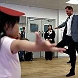 Prince Harry Visits Ballet Class South Ealing April 2019