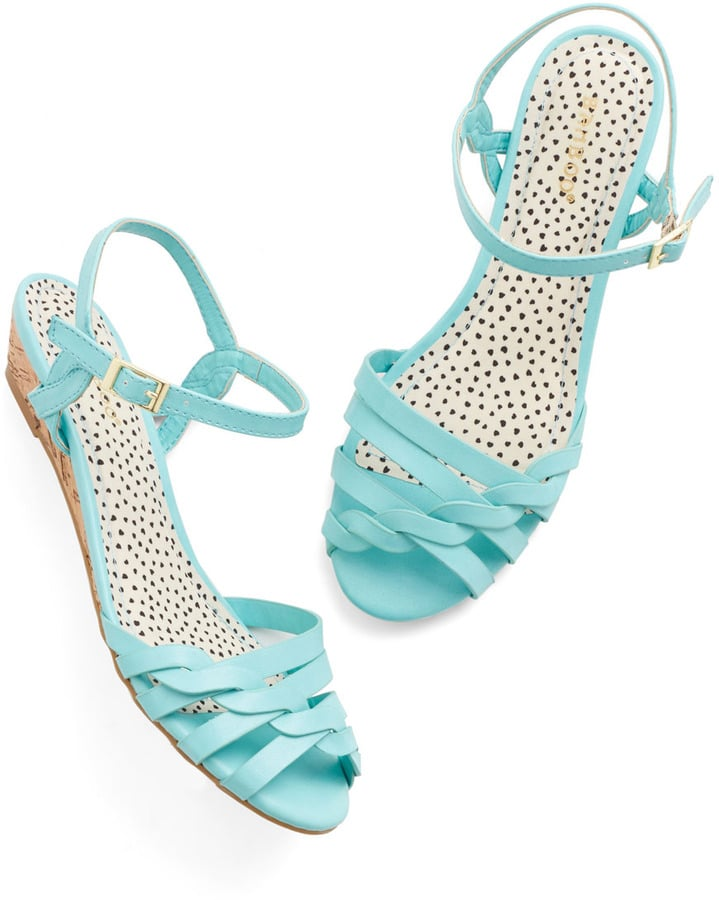ModCloth Blue Sandals
