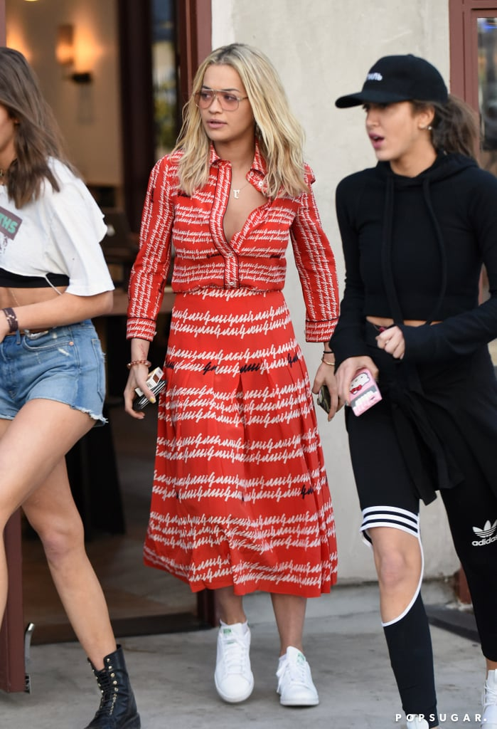 4247434852a Rita Ora's Gucci Dress April 2016   POPSUGAR Fashion