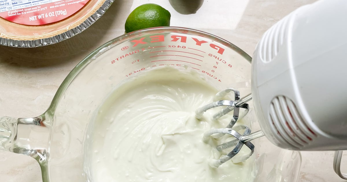 You'd Never Guess This No-Bake Key Lime Pie Uses Greek Yogurt