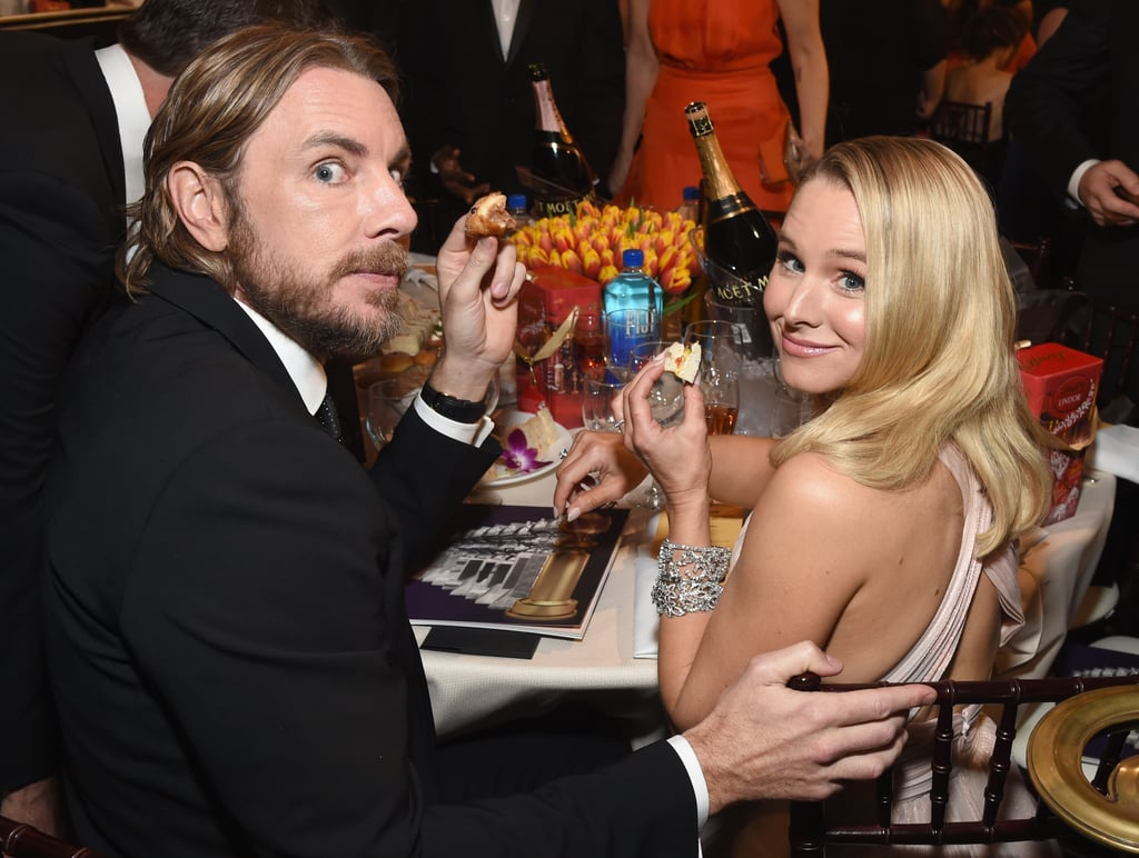 Pictured: Dax Shepard and Kristen Bell