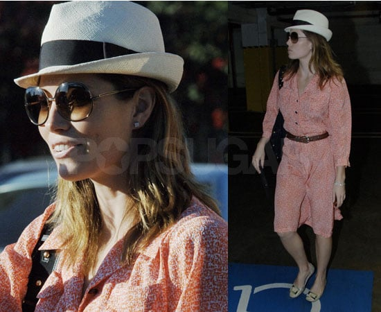 Photos of Jessica Biel in LA, She Will Not Be Designing Bags for William Rast