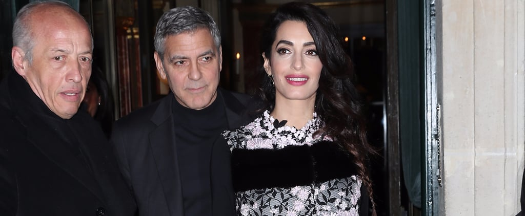 Amal Clooney Just Made Her Most Glamorous Maternity Style Move Yet