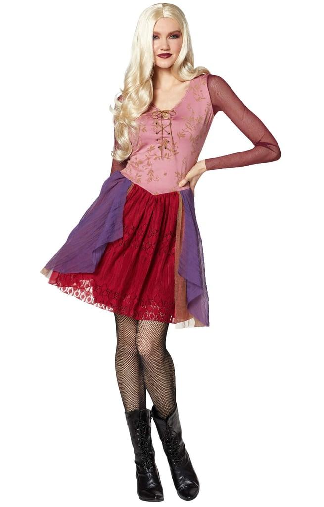 sarah sanderson dress hocus pocus halloween collection