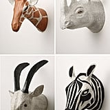Papier Mache Taxidermy For Tots