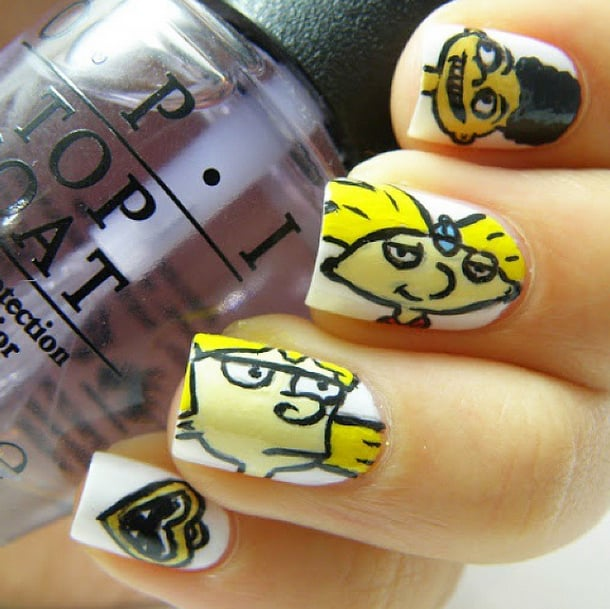 These Hey Arnold! nails aren\'t the only \'90s nail art that will put ...