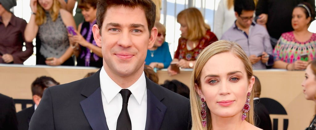 Emily Blunt and John Krasinski Are All Glammed Up For a Big Night at the SAG Awards
