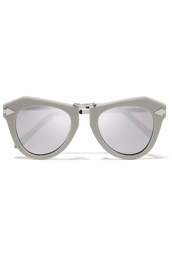 The fashion-lover on your list will go wild for these chic Karen Walker's One Orbit Sunglasses ($300).