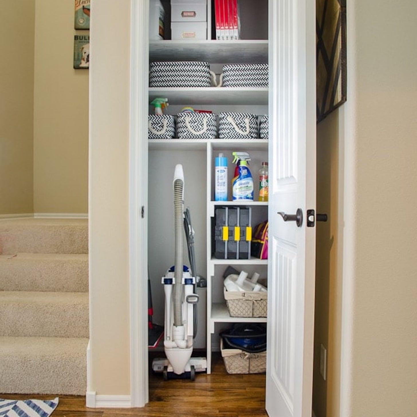 How To Organize A Small Coat Closet Popsugar Family