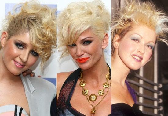 Cyndi Lauper Inspired Hair