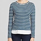 Tory Burch Stripe Linen Tee ($150)