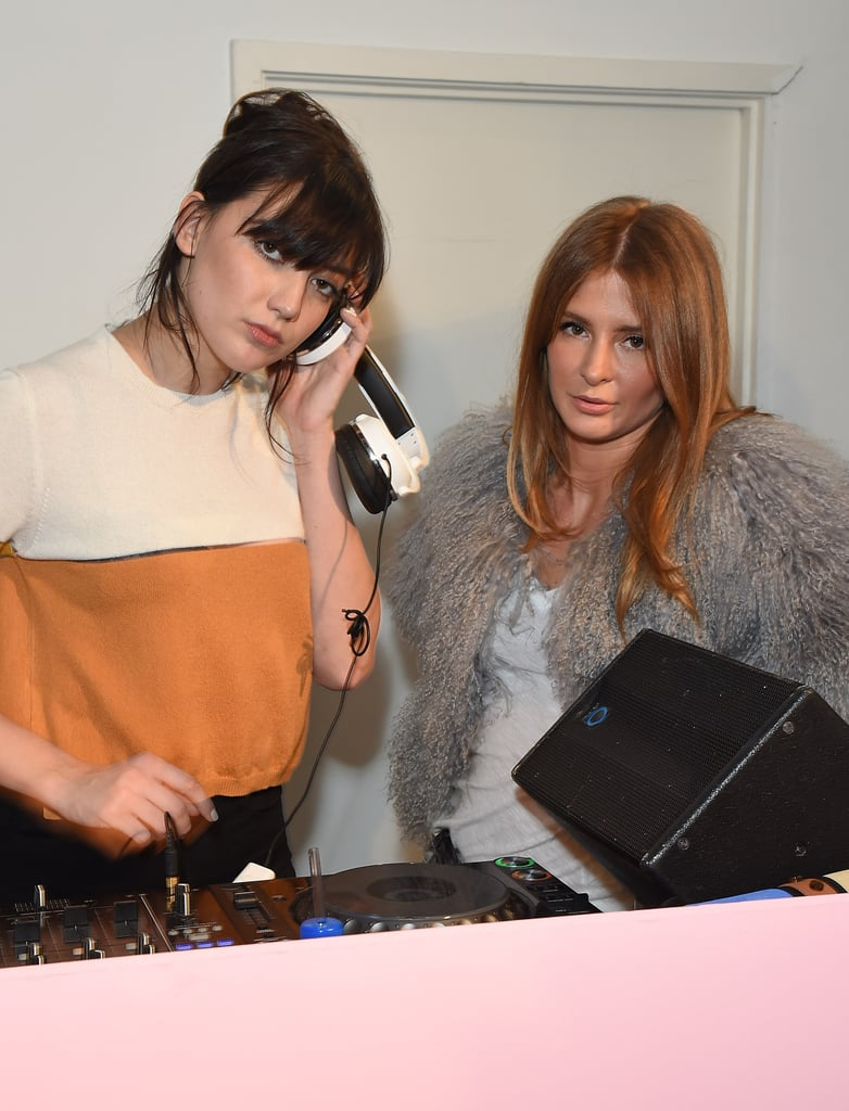 Daisy Lowe and Millie Mackintosh