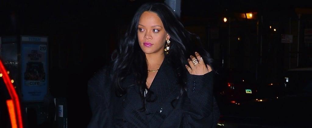 Rihanna's White Heels With Hassan Jameel
