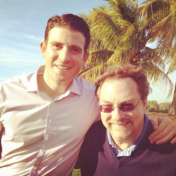 Bryan Greenberg shared an on-set photo with Stephen Root. Source: Instagram user bryangreenberg