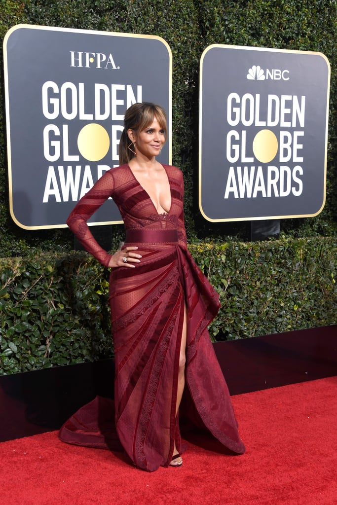 Halle Berry at the 2019 Golden Globes