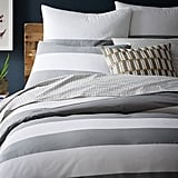 West Elm Mod Stripe Duvet Cover + Shams ($16-$69)
