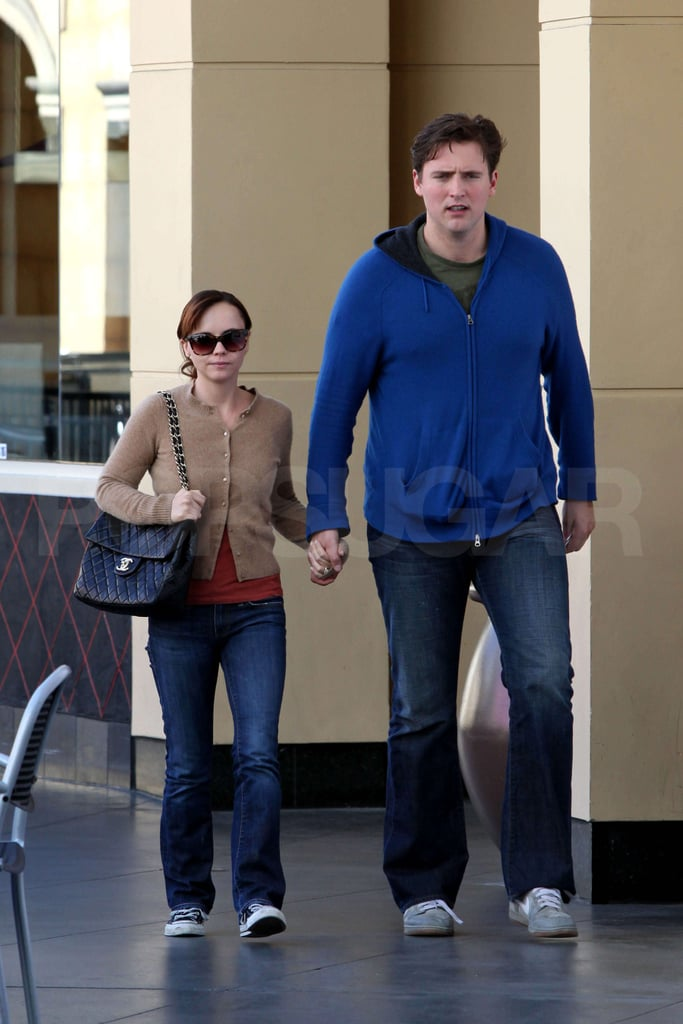 Christina Ricci and Owen Benjamin in LA