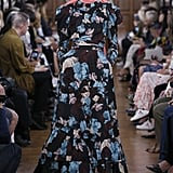 This look from the Spring 2019 Erdem runway seems to be right up Kate's alley. She might omit the peachy-pink sash from the look, but we nominate this gown for her next red carpet event, hands down.
