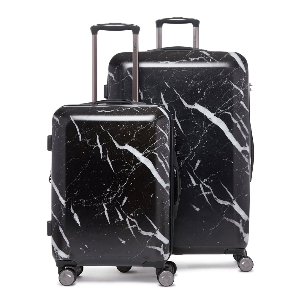CALPAK Astyll Midnight Marble 2-Piece Luggage Set