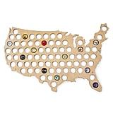 Beer Cap USA Map
