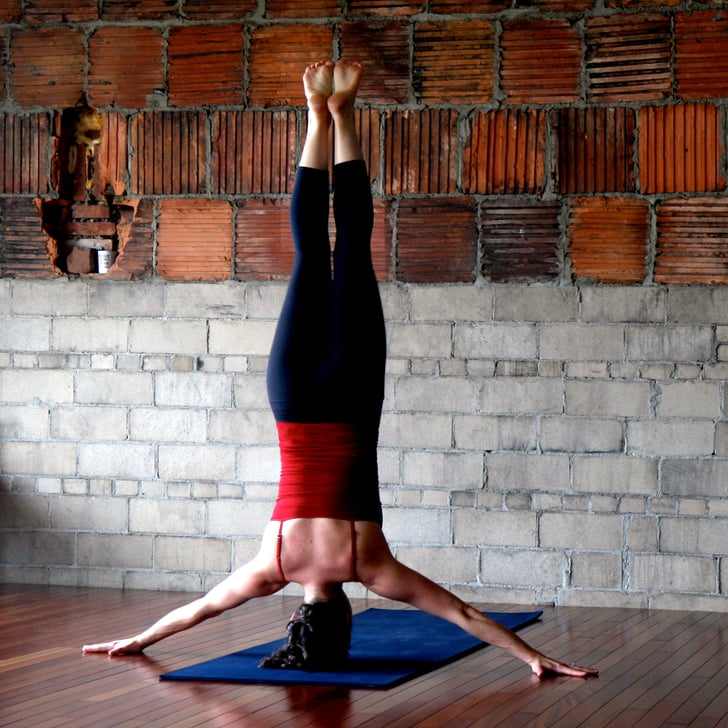 Iron Cross Headstand Advanced Yoga Poses Pictures