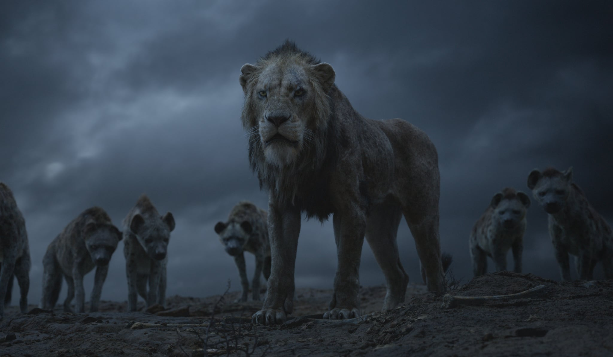 THE LION KING - Featuring the voices of Florence Kasumba, Eric André and Keegan-Michael Key as the hyenas, and Chiwetal Ejiofor as Scar, Disney's