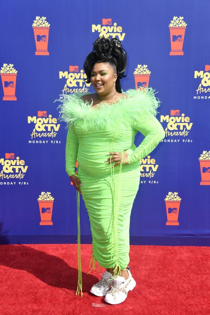 Lizzo at the MTV Movie & TV Awards
