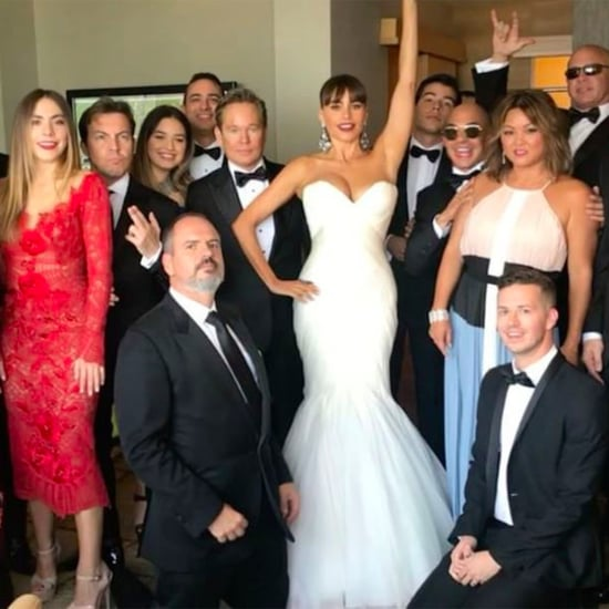 Sofia Vergara Squad at the 2017 Emmys