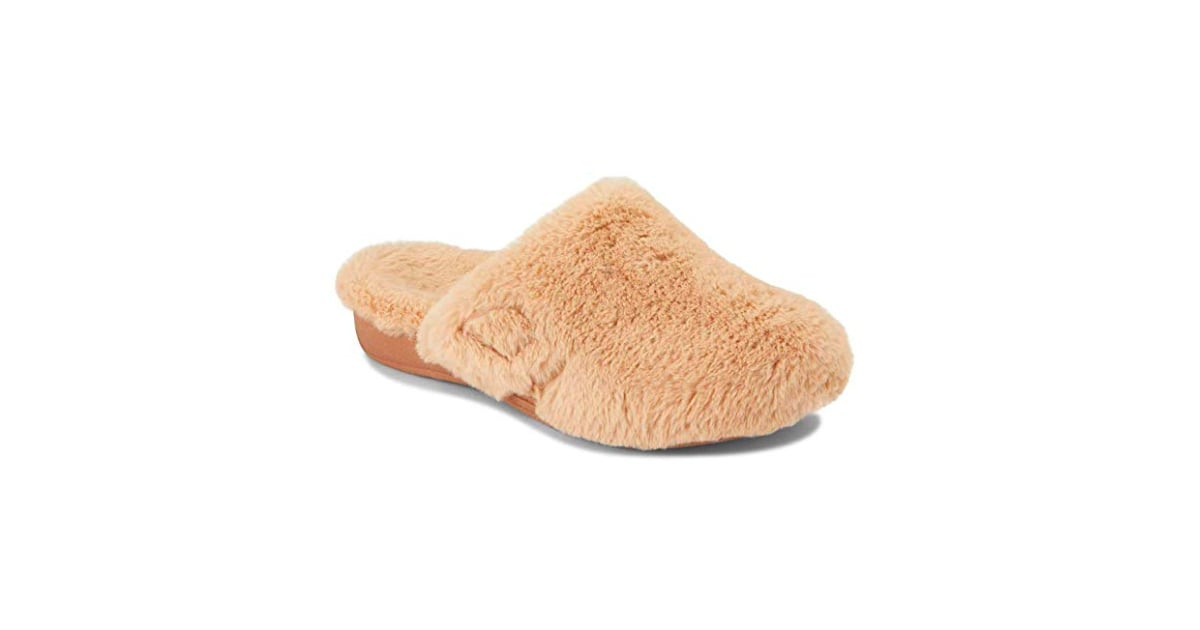 eed3ea1f20f Vionic Women s Indulge Gemma Plush Slippers in Light Tan