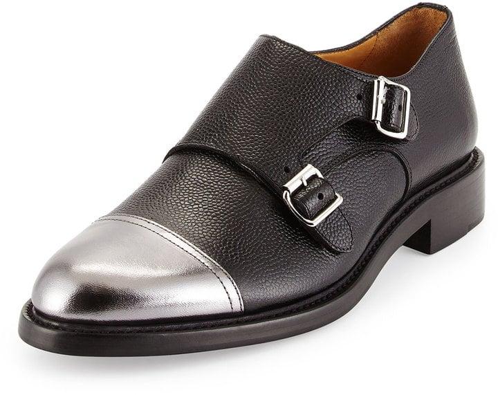 The Office of Mister Scott Colin Double-Monk Cap-Toe Shoe ($550)