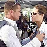 Brad Pitt and Angelina Jolie, Mr. & Mrs. Smith