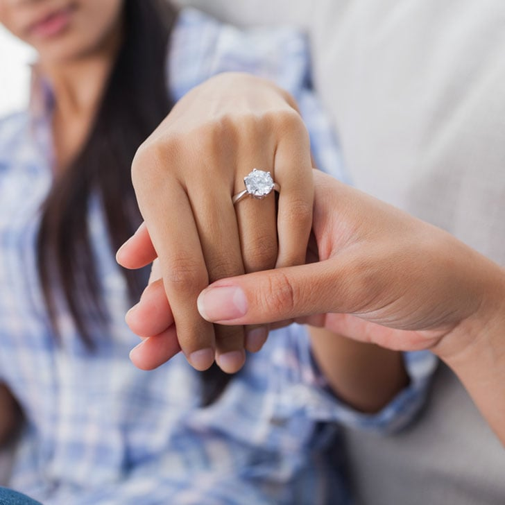 What to look for when buying an engagement ring POPSUGAR Fashion