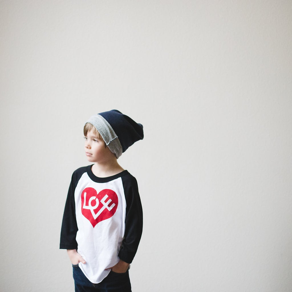 Love Heart Baseball Tee