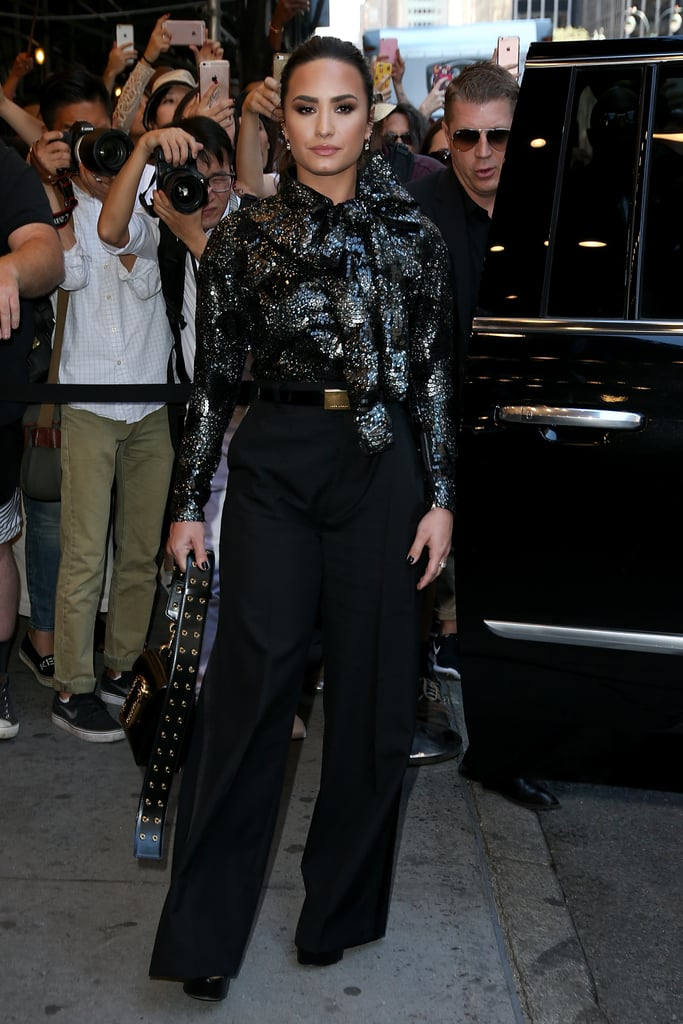 Demi Lovato's NYFW Outfit Is 1 Every Fashion Fan Will Love