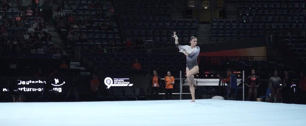 Watch This Gymnast's Billie Eilish Floor Routine