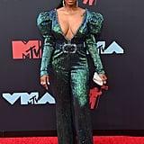 JuJu at the 2019 MTV VMAs