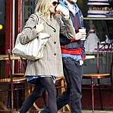 Pictures of Sienna Miller and Tom Sturridge Getting Coffee in London