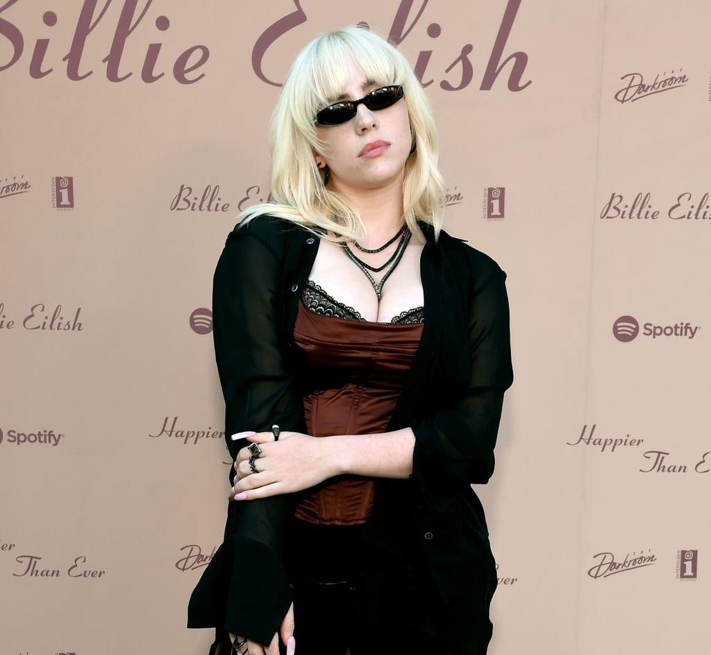 See Billie Eilish's Shaggy Bob Haircut
