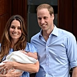 Prince George was born in July 2013.