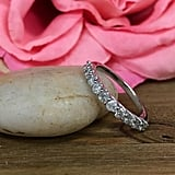 Etsy Round Brilliant Diamond Band Wedding Anniversary Band