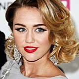 Miley Cyrus at the 20th Annual Elton John AIDS Foundation's Oscar Viewing Party in February 2012