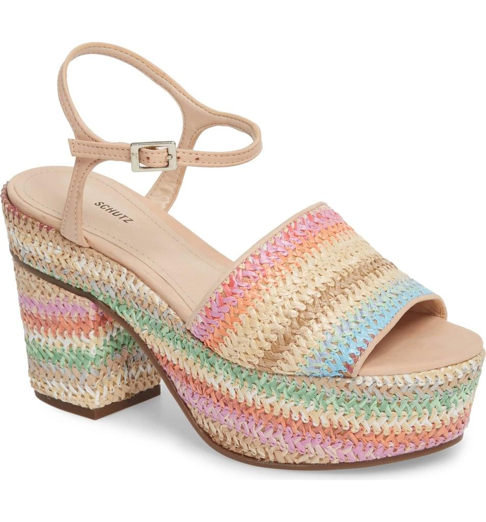 Schutz Ziquiele Platform Sandal
