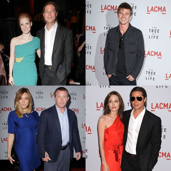 Brad Pitt and Angelina Jolie Pictures at the LA Premiere of Tree of Life