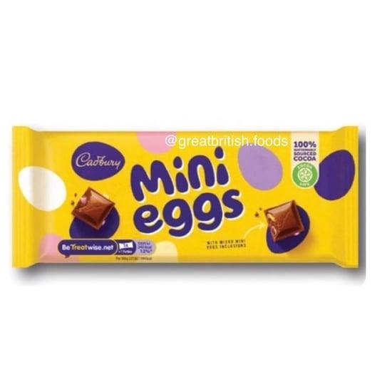 Cadbury Confirms a Mini Egg Chocolate Bar Is Coming