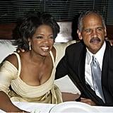 Oprah Winfrey and Stedman Graham