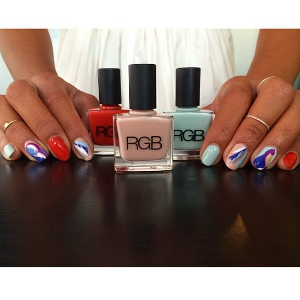 Her Beautified and RGB Collaboration Nail Polish