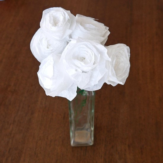 Coffee-Filter Roses | Cool Upcycling Projects | POPSUGAR ...