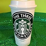"Harry Potter Personalized Customized ""The Three Broomsticks"" Starbucks Cup ($10)"