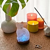 Mini Color-Changing USB Cat Himalayan Salt Lamp