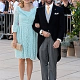 Prince Guillaume, Prince Félix's older brother, and Princess Stephanie of Luxembourg attended the nuptials.
